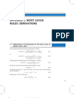 Root Locus Derivations