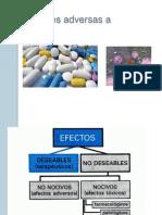Reacciones Adversas a Farmacos