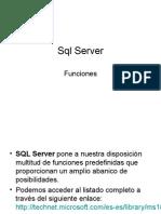 SQL Server Funciones Personalizadas