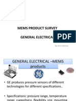 mems product survey