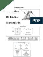 Parámetros de Líneas de Transmisión