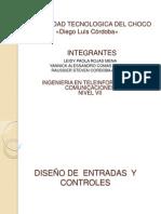 DISEÑO DE ENTRADAS  Y CONTROLES (1)