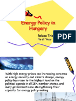 Energy Policy in Hungary