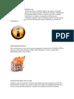 programas de uso basico en la pc o computadora
