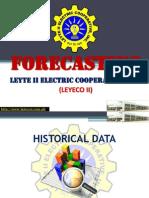 LEYECO 2 Forecasting