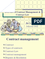 Contract Management & Contract Law