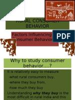 Rural Consumer Behavior