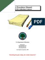 2009 Pca Procedures