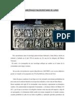PRACTICA IV, El Sarcofago Paleocristiano de Junio Basso