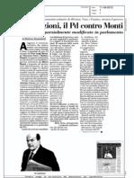 Liberalizzazioni, il Pd contro Monti