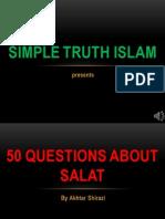 50 QUESTION ABOUT NAMAZ - QUESTION 22-28