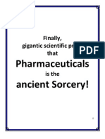 The LONGTERM BAD EFFECTS of CHEMEDICINE Proves That Modern Medicine or Pharmaceuticals is the Ancient Sorcery or Pharmakon - eBook