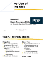 Session 01 - Teaching Aids