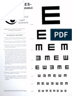 Optotipo para registro Agudeza Visual