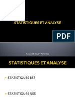Statistiques Et Analyse