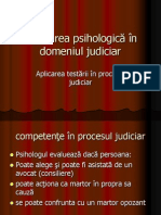 Curs IX Testarea Judiciara