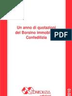 Confedilizia Borsino 2010