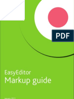 Easyeditor Markup Guide