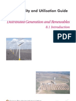 81 Introduction to Distributed Generation and Ren