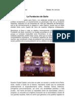 La Fundacion de Quito