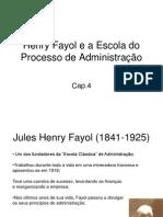 Henry Fayol e a Escola Do Processo - Parte 1