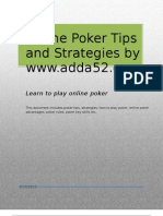 Poker Tips & Strategies