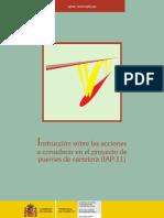 Instrucción sobre las acciones a considerar en el proyecto de puentes de carretera (2011)