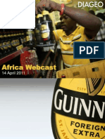Africa Webcast Slides Diageo - FINAL