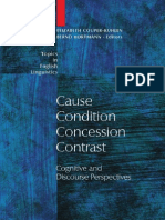 Cause Condition Concession Contrast