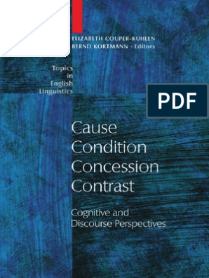 Cause Condition Concession Contrast | Causality | Relevance