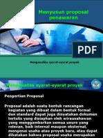 Menyusun Proposal Penawaran 1