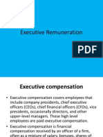 Executive Renumeration ppt