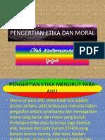 Pengertian Etika Dan Moral Persentase