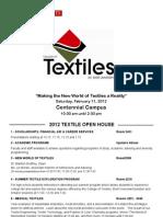 Open House Program2012