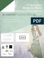 1as Jornadas Blogs de Moda y Comercio Electrónico