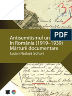 Antisemitismul Universitar in Romania (1919-1939)