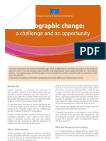 Demographic Change - A Challenge and an Opportunity 2011