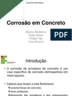 Corrosão em Concreto_trabalho