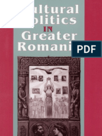 Cultural Politics in Greater Romania, 1918-1930