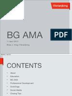 BGAMA Presentation 11April2012