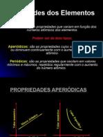 PROPRIEDADES PERIÓDICAS E APERIÓDICAS - AULA 07