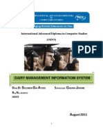 Final Year Report -DAIRY MANAGEMENT INFORMATION SYSTEM