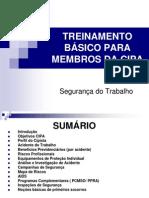 TREINAMENTO BÁSICO PARA MEMBROS DA CIPA