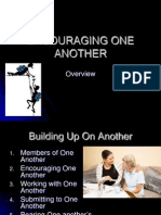 Building Up One Another - Lesson 2 - Encouraging One Another