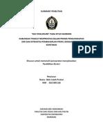 Summary Penelitian Gelis Indah Pratiwi