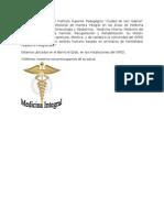 El servicio médico del Instituto Superior Pedagógico
