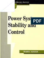 Power System Stability and Control Kundur