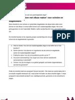 ORG Checklist-Afspraken-Met-elkaar-maken Voor Schole en Organisaties
