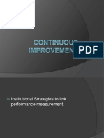 Continuous Improvement123