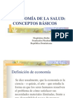 12 Economia Salud Conceptos Basicos